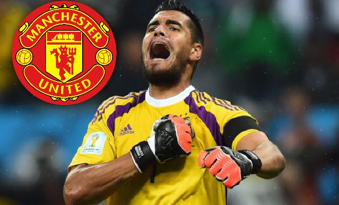DEAL DONE: Manchester United completed the signing Argentina goalkeeper Sergio Romero late last night. (Source: @ManUtd)
