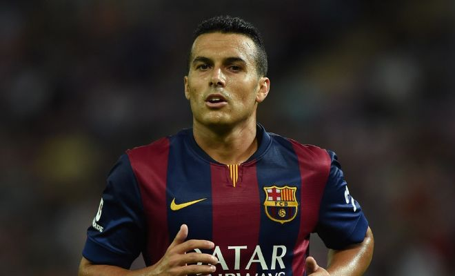 Chelsea are interested in Barcelona's Pedro now. [SPORT]