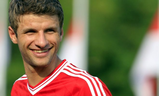 Manchester United are interested in replacing Robin van Persie with Thomas Muller. [The Sunday Telegraph]