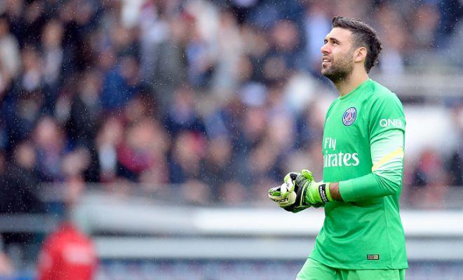 PSG goalkeeper Salvatore Sirigu has revealed that he has no reason to leave the Ligue 1 side. (Sky Italia)