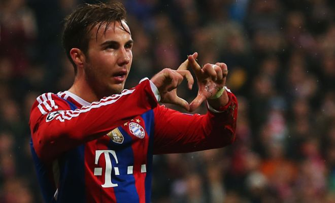 Bayern Munich have reportedly agreed to let Mario Gotze join Juventus this summer with a buy-back clause in his contract. (Gazzetta dello Sport)