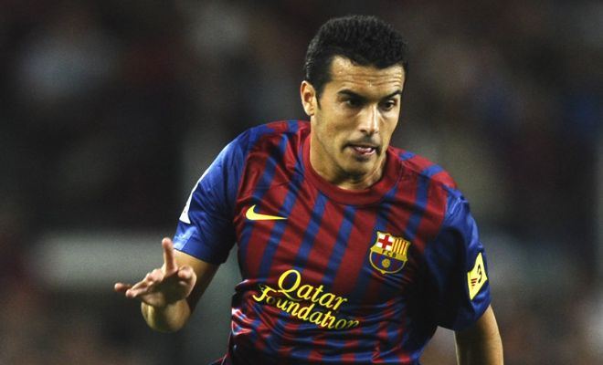 Manchester United are planning to match Chelsea's bid of £22m for Barcelona forward Pedro. [Daily Mirror]