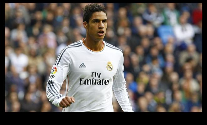Manchester United are interested in Real Madrid's young defender Raphael Varane. [Marca]