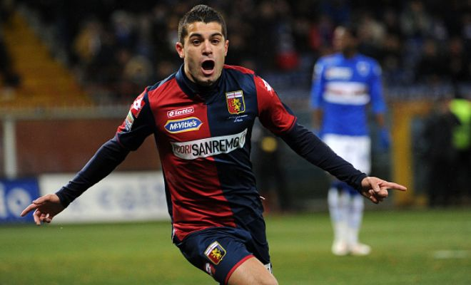 AS Roma have completed the signing of Genoa's Iago Falque on a season-long loan deal.