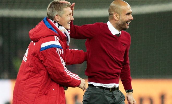 Bayern Munich manager Pep Guardiola insists that Bastian Schweinsteiger's future depends on what the midfielder wants. (Sky Sports)