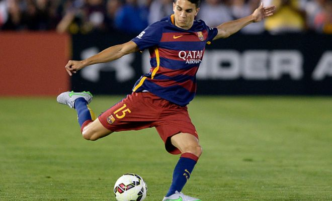 Barcelona defender Marc Bartra denies claims of him wanting to leave the club. He said,