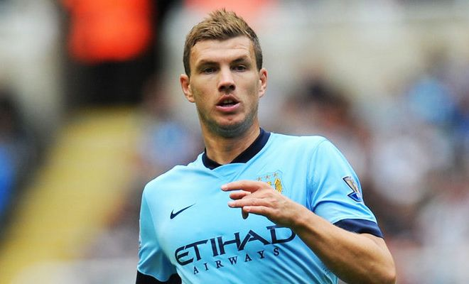 Arsenal and Roma are set to go head to head to sign Manchester City striker Edin Dzeko. [Sunday Express]