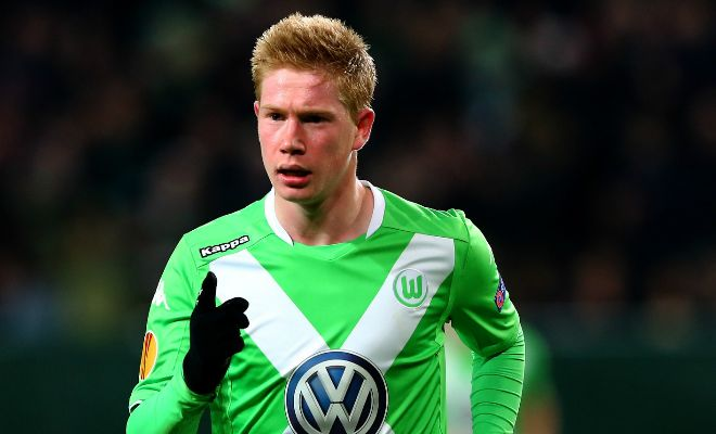 Manchester City to offer £50m to Wolfsburg for Kevin de Bruyne. [Daily Star]