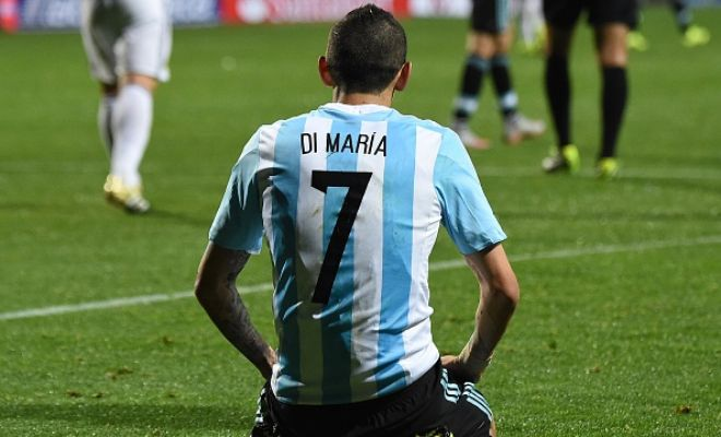 Manchester United's Angel Di Maria will fight for his place at the club and is set to reject offers from Barcelona and PSG. (Daily Express)
