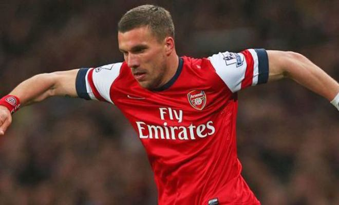 Lukas Podolski is expected to have a medical with Galatasaray next week. [The Times]