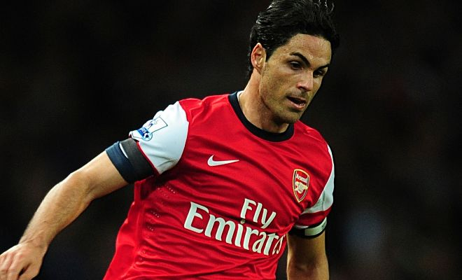 Arsenal captain Mikel Arteta is willing to extend his contract at Emirates. [Goal]