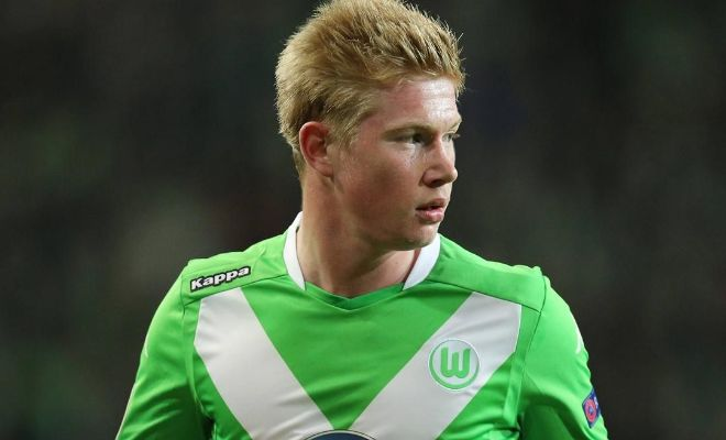 Manchester City are ready to offer Wolfsburg up to £50m for Kevin De Bruyne as they prepare for a transfer battle with Paris-Saint Germain. [Sunday Telegraph]
