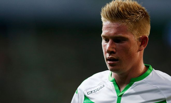 Wolfsburg have set a price tag of £50m for Manchester City target Kevin De Bruyne. [Daily Mirror]
