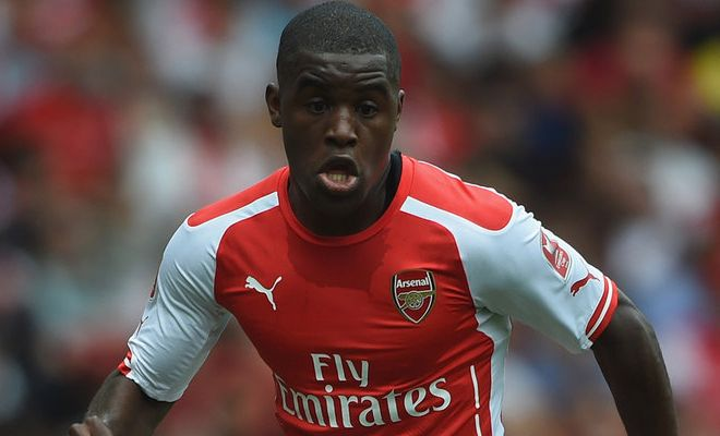 Real Sociedad close in on Arsenal's Joel Campbell. [Marca]