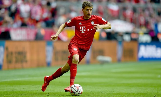 A €82m offer for Bayern Munich's Thomas Muller is on the cards as Manchester United are interested in signing the World Cup winner.
