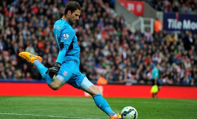 Stoke City's Asmir Begovic is on the verge of completing his switch to Chelsea. Shay Given is being regarded as Begovic's replacement at Stoke. (Express)