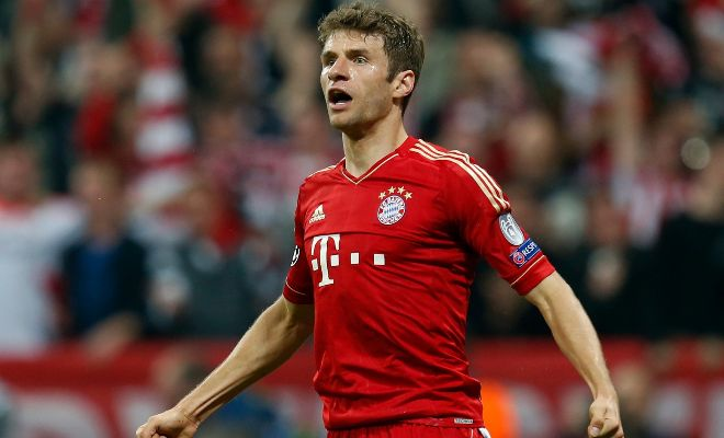 Manchester United manager Louis van Gaal is refusing to take no for an answer in his pursuit of Bayern Munich's Thomas Muller. [Daily Mirror]
