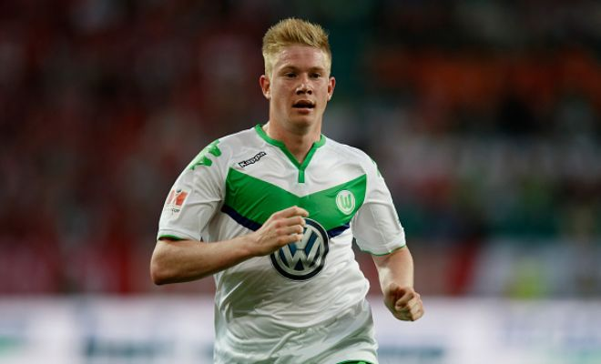 Wolfsburg have told Manchester City that they will not sell Kevin De Bruyne for less than £50m. [Daily Star]