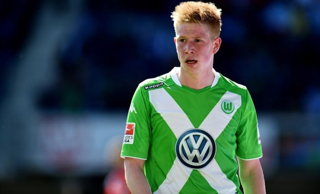 Wolfsburg are expecting a new and improved bid from Manchester City for Kevin De Bruyne. [Independent]