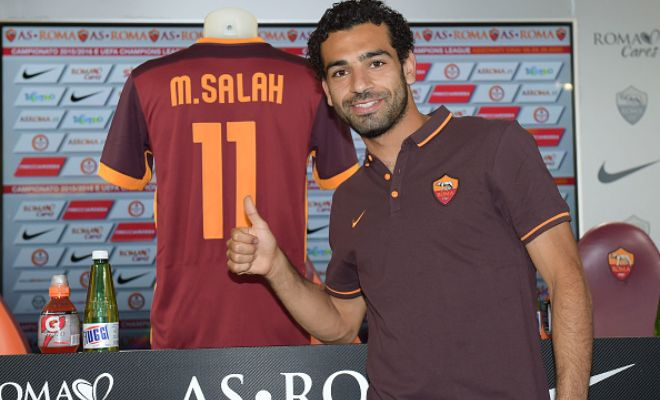 Egyptian winger Mohamed Salah has joined Roma on a season-long loan.