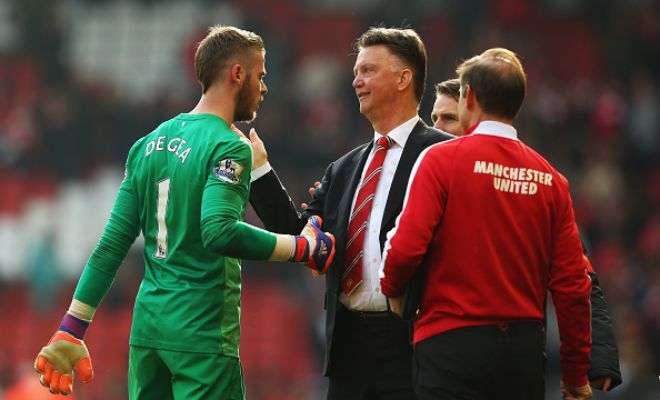 Louis van Gaal on David de Gea: