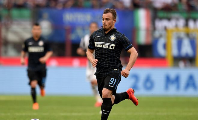 Swiss winger Xherdan Shaqiri could be on his way to Everton on a loan deal from Inter Milan. [Daily Star]
