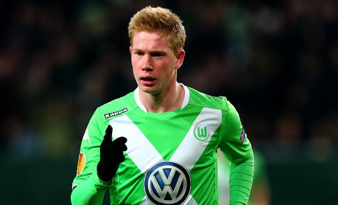 Manchester City are really confident of signing Kevin de Bruyne from Wolfsburg this summer and have already booked a medical with the player. [Daily Star]