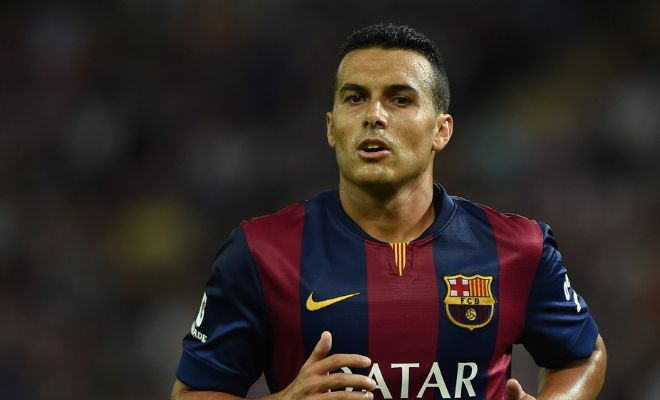 Liverpool are pushing for the signature of Barcelona forward Pedro. [Sport]