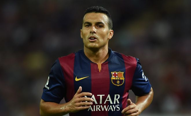 Manchester United are ready to trigger the £22m release clause of Barcelona's Pedro. [Guardian]