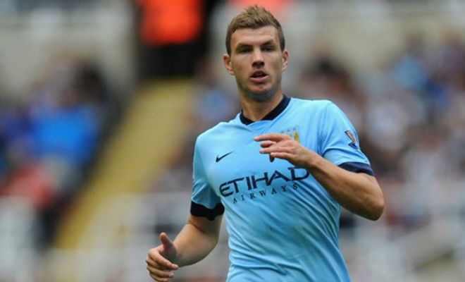 Arsenal are weighing up a bid for Manchester City striker Edin Dzeko. [Daily Star]