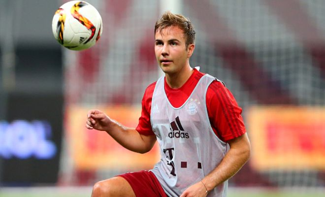 Bayern Munich manager Pep Guardiola wants Mario Gotze to stay at the club. [Daily Express]