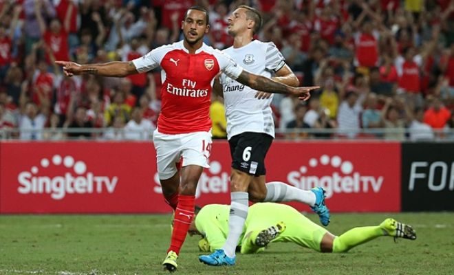 Theo Walcott keen to sign Arsenal deal but wants more than £100,000 a week. [Guardian]