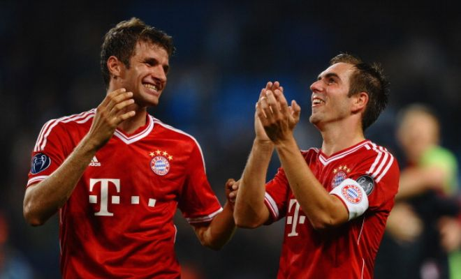 Bayern Munich captain Phillip Lahm has admitted that Thomas Muller could join Manchester United this summer. [Sky Sports]