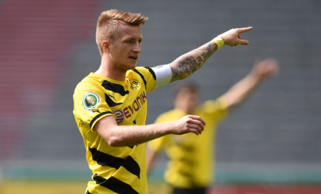 Borussia Dortmund winger Marco Reus is likely to reject Liverpool and sign for Real Madrid. [Liverpool Echo]