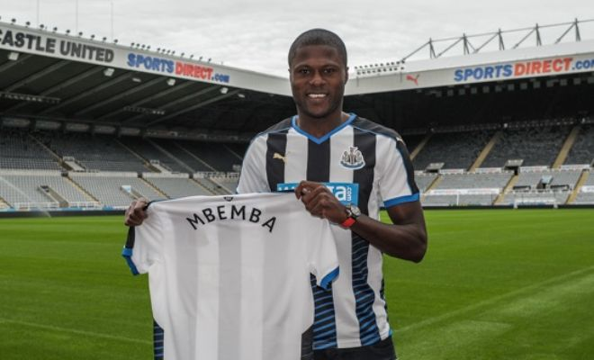 Newcastle United announced the signing of Anderlecht defender Chancel Mbemba after the 20-year-old DR Congo international put pen to a five-year deal.