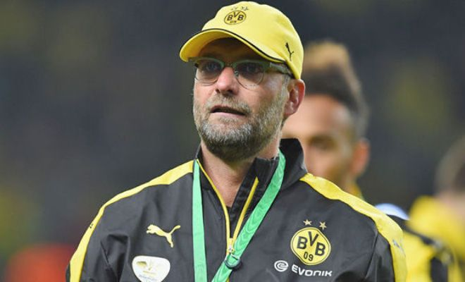 Former Borussia Dortmund head coach Jurgen Klopp would be interested in the Liverpool job if Brendan Rodgers leaves Anfield, according to his agent. [Sun]