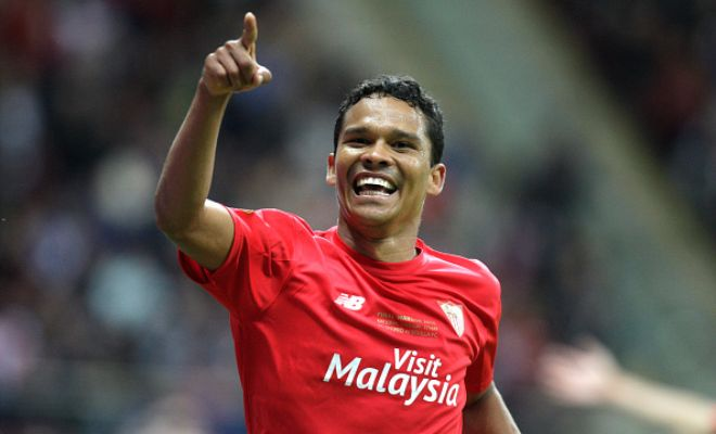 Sevilla striker Carlos Bacca is on the wishlist of Italian club AS Roma. (Daily Mail)