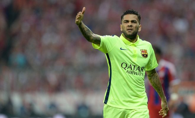 Manchester United are front-runners to sign Dani Alves. [Guardian]