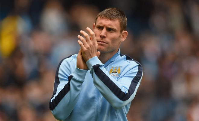 James Milner on the verge of signing for Liverpool. [BBC]