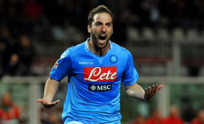 Serie A side Napoli have put a £67m price tag on their striker Gonzalo Higuaín with clubs like Arsenal, Liverpool and Milan said to be interested in the Argentine. (Guardian)