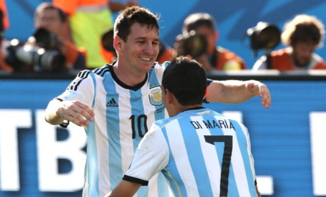 Lionel Messi wants Argentine teammate Angel di Maria to leave Manchester United for Barcelona. (The Sun)