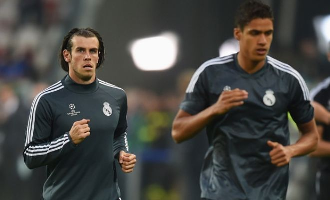 Manchester United's £110m bid for Gareth Bale and Raphael Varane rejected. [Telegraph]