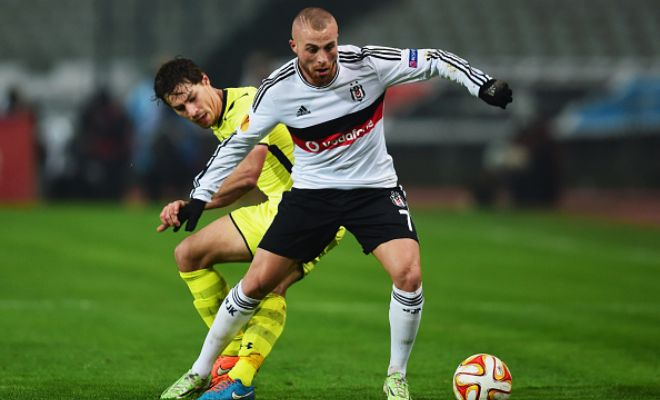 Besiktas' Gokhan Tore is a target for Manchester City who have reportedly made a £5million offer for the Turkish International.