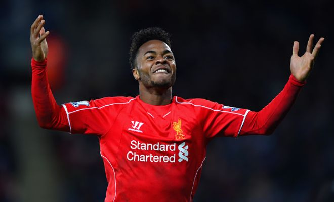 Liverpool are not willing to sell youngster Raheem Sterling to Manchester United. (Sky Sports)