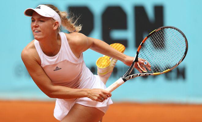 Wozniacki Interview: WTA Madrid 2R | Tennis Video