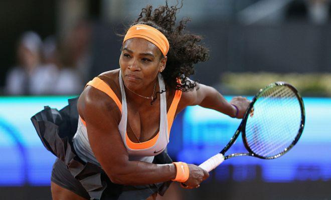 S. Williams Interview: WTA Madrid 2R | Tennis Video