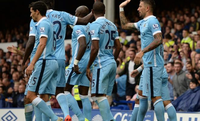 FT: Everton 0-2 Manchester City (Kolarov, Nasri) Their third win from the three games so far. (8 goals, 0 Conceded)