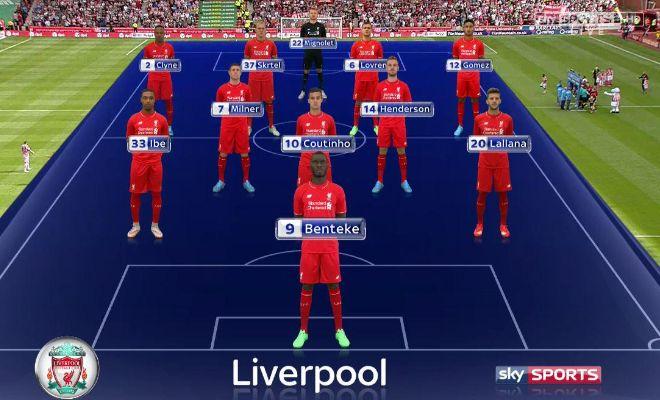Liverpool XI: