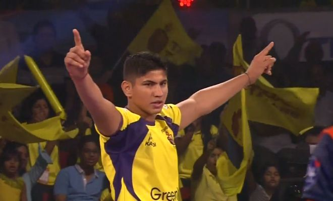 18' Complete domination by Telugu Titans as they complete another ALL OUT on Bengal Warriors. Titans 25-8 Warriors