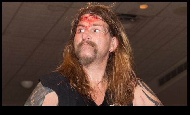 Former WWE and ECW star Balls Mahoney, real name Jonathan Rechner